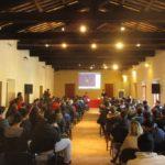 Gli studenti nella sala convegni del San Domenico