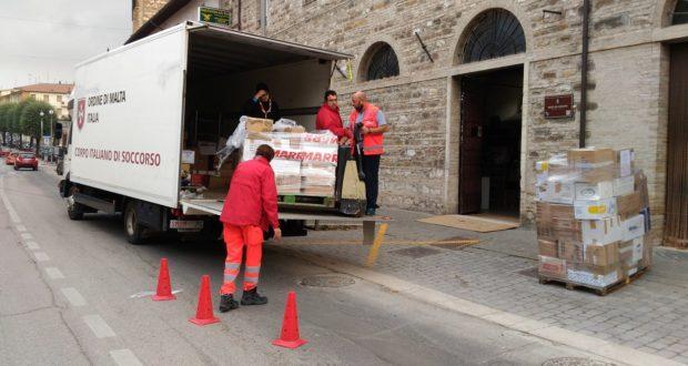 L'impegno dei volontari dell'Ordine di Malta
