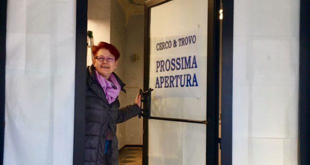 """La titolare di """"Cerco e trovo"""", Silvana Mammoli"""