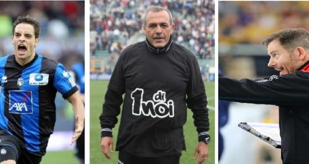 Bonaventura, Castori e Giuliani ai tempi del concorso lanciato dal Settempedano per lo sportivo dell'anno