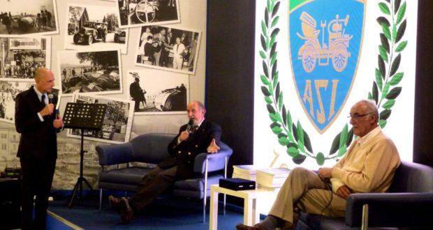 Pietro Caglini al Salone dell'auto di Milano