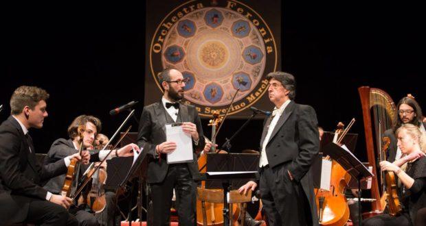 Francesco Rapaccioni e il direttore Giorgio Lorenzini