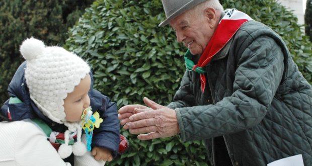 Umberto Ferroni con il tricolore al collo