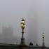 Londra avvolta dalla nebbia