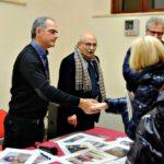 Claudio Scarponi e Alberto Pellegrino alla presentazione del libro