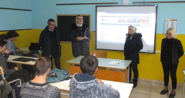 L'on Irene Manzi incontra gli studenti dell'Itis