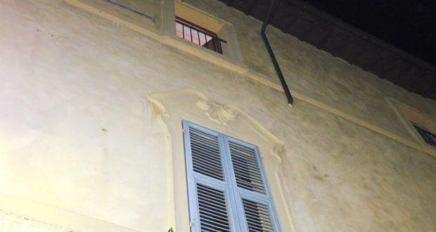 La finestra dell'appartamento