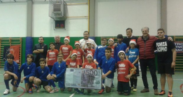 La delegazione di San Severino al torneo di Fidenza