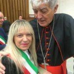 Il sindaco con il cardinal Menichelli