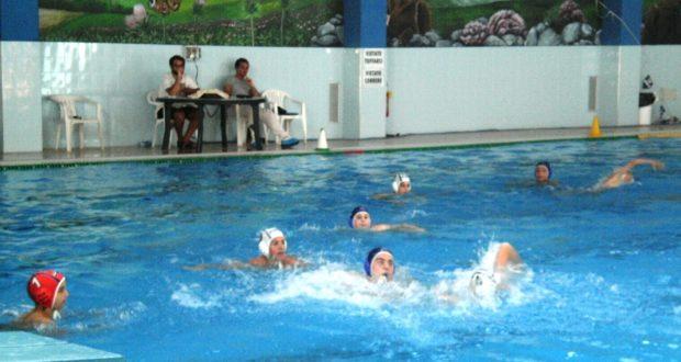 Atleti del Blugallery Team in vasca