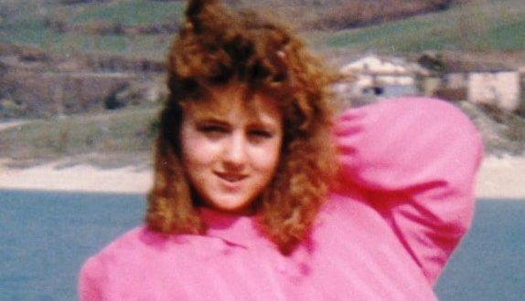 Giuseppina Meschini in una foto da ragazza