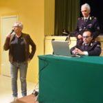 Il professor Livio Poleti interviene all'incontro sul cyberbullismo