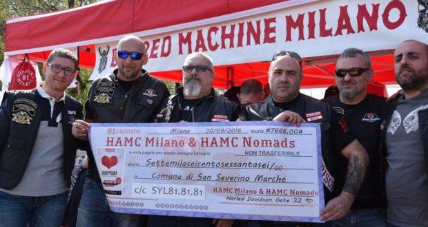 Grande gesto di solidarietà dai bikers milanesi