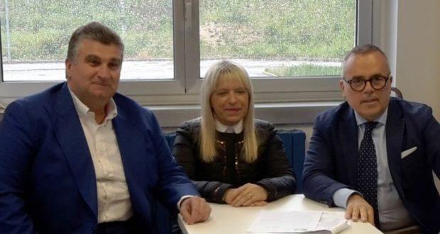Da sinistra: Vincenzo Ramovecchi, Rosa Piermattei e Alessandro Maccioni