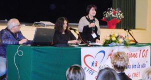 La presidente dell'Associazione, Cristina Carboni