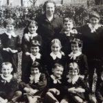 La classe del '57 con la maestra Bolzonetti