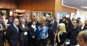 La visita del ministro Lorenzin