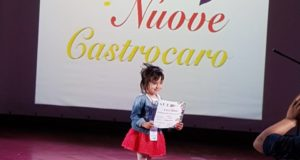 Nicole, 5 anni, è già un talento