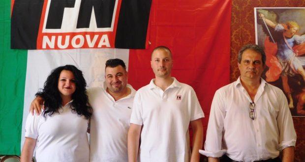 Da sinistra: Borra, Zito, Bianchi e Fiore