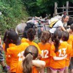 Trekking con gli asini lungo la Valle dei grilli
