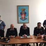 """I carabinieri rendono noti i particolari dell'operazione """"Gustavo"""""""