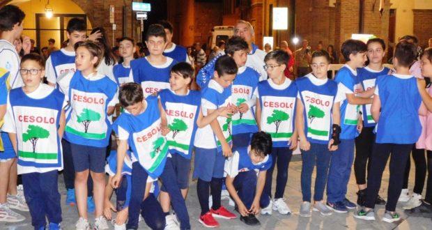 I piccoli atleti della Villa di Cesolo