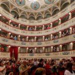 Gli spettatori al Feronia per il Concerto della Repubblica
