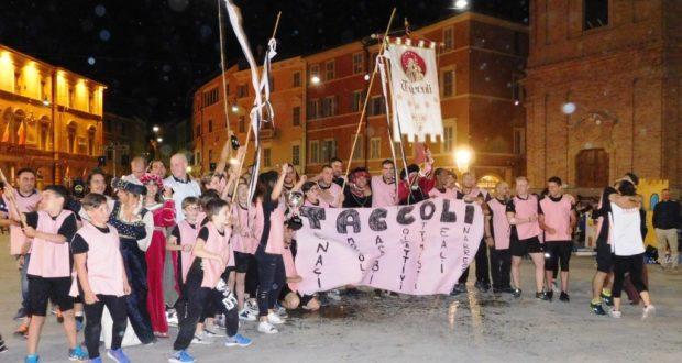 Taccoli vince il Palio dei castelli 2017
