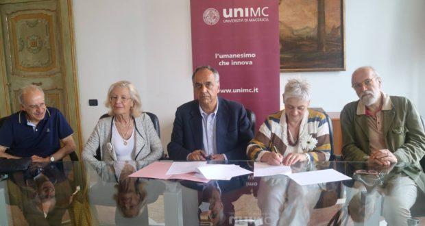 Da sinistra: Massimo Altobelli, Vanna Bianconi, Francesco Adornato, Donella Bellabarba e Roberto Cresti