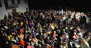 Il pubblico della seconda serata ai Granali