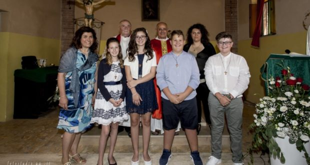 Cresime a Serralta nel giorno di Sant'Apollinare