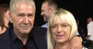 Il sindaco Rosa Piermattei con il presidente del Gruppo Lube, Luciano Sileoni