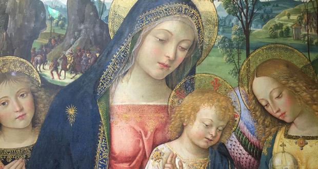 Madonna della pace del Pinturicchio