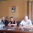 La conferenza stampa al Feronia