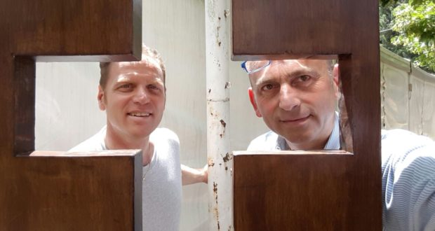 Da sinistra: Gianluca Nardi e Adriano Francucci