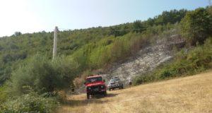 Lo spegnimento dell'incendio