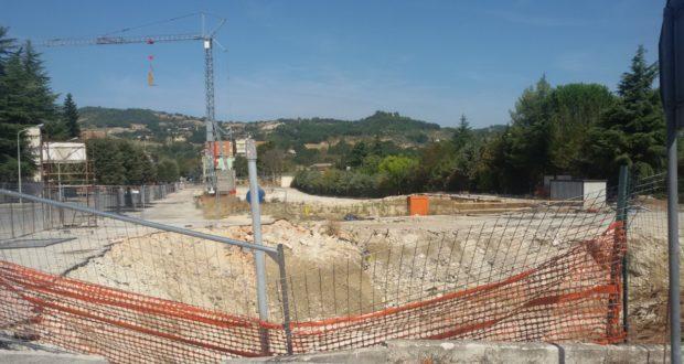 L'area in cui sorgerà il nuovo Itis: si attende da tempo l'inizio dei lavori