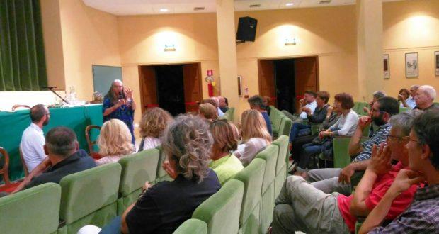 Il pubblico all'Italia per l'incontro con Sonia Baldoni