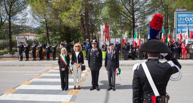 La cerimonia d'intitolazione del Largo Piermanni