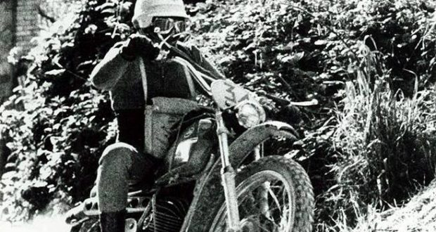 Luigi Cristini in una foto d'epoca