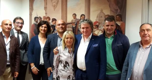 Riunione all'Assem con i sindaci di San Severino, Tolentino e Osimo