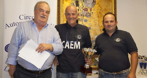La premiazione di Gianpaolo Paciaroni