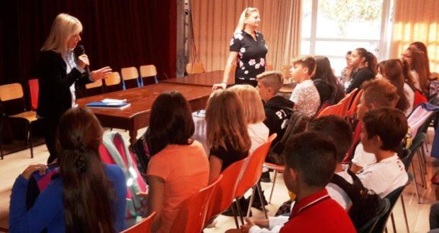 Il saluto del sindaco agli alunni del Comprensivo Tacchi Venturi
