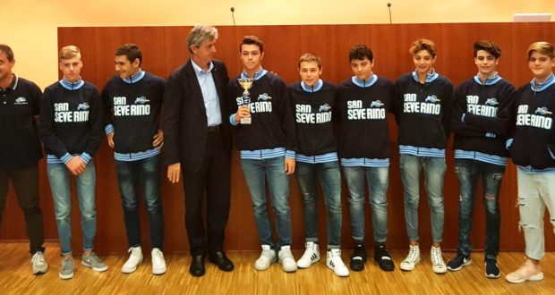 L'Under 15 di San Severino