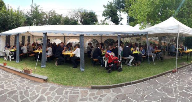 Il pranzo a casa Gagliardini