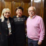 De Micheli e Pettinari con il sindaco Piermattei