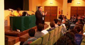 L'intervento del preside Luciani