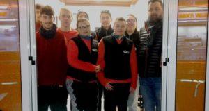 Nunzio Fattobene con il nuovo staff