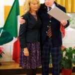 Fabrizio Grandinetti con la signora Piermanni