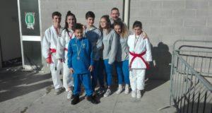 I ragazzi di San Severino assieme all'istruttore Boris Giachetta
